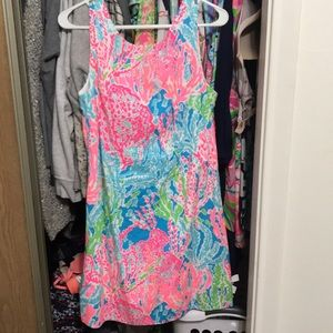 Lilly Pulitzer let's cha cha shift dress size 6